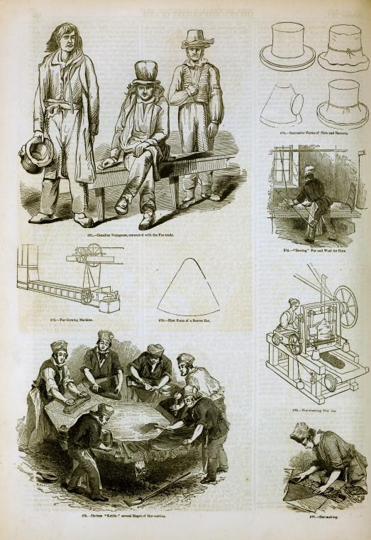fur_industry-_hat-making_canadian_voyageurs-__1858-_