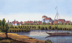 Dömitz on the Elbe.