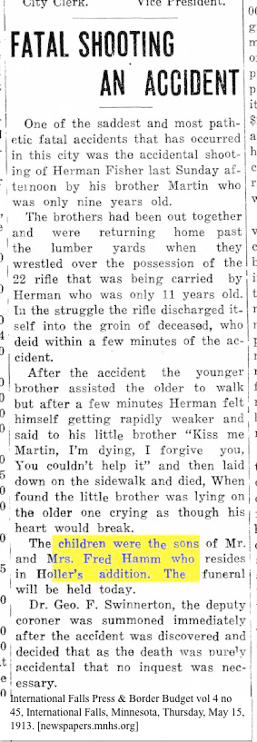 newspaper_hammfred_fatalshootingMN1913