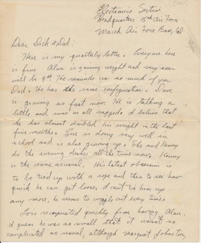 letter_shepardw_to_shepardwr_1951_001_p01