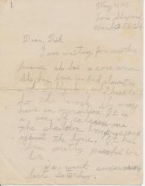 letter_shepardwl_to_shepardwr_1951_05_25_p01