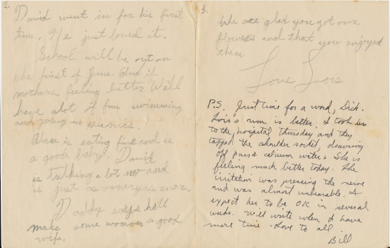 letter_shepardwl_to_shepardwr_1951_05_25_p02and03