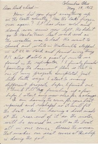 letter_shepardhr_to_shepardwr_1952_05_13_p01