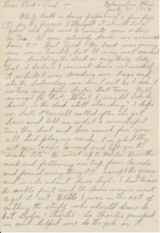 letter_shepardhr_to_shepardwr_1952_07_31_p01