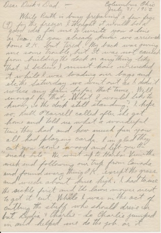 letter_shepardhr_to_shepardwr_1952_07_31_p01