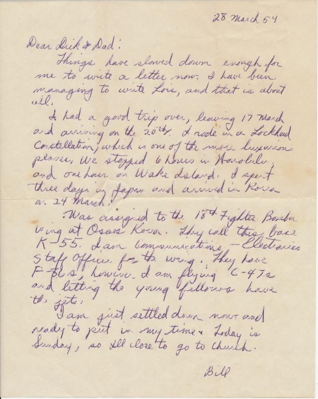 letter_shepardw_to_shepardwr_1954_03_28