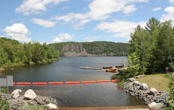 Grand Falls Camp Cummings Lake Thessalon