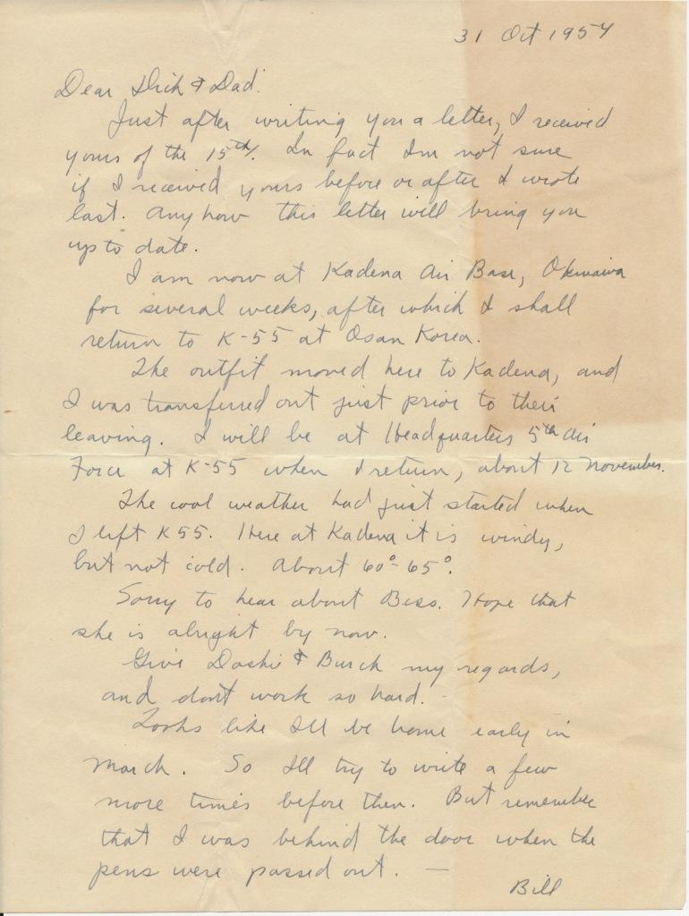 letter_shepardw_to_shepardwr_1954_10_31